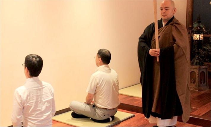 坐禅会の写真