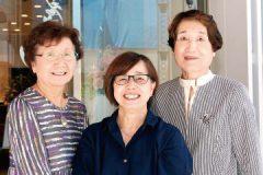記事「赤坂浄苑の京都旅行で仲良しに。いろいろな催しに3人で参加しています。」の画像