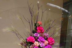 記事「秋のお花で皆様をお迎えいたします」の画像